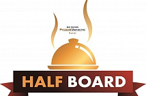 "Book ""HALF BOARD"" rate now"